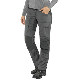 Lundhags Authentic II Pantalon Femme, granite/charcoal